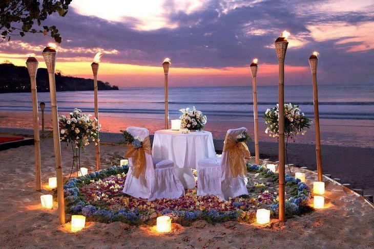 Индонезия, свадьба на уединенном пляже