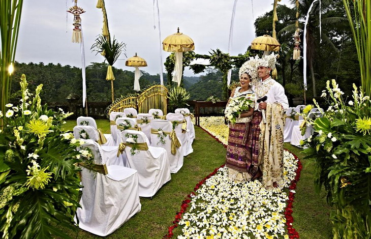 Свадебная церемония  в Убуде