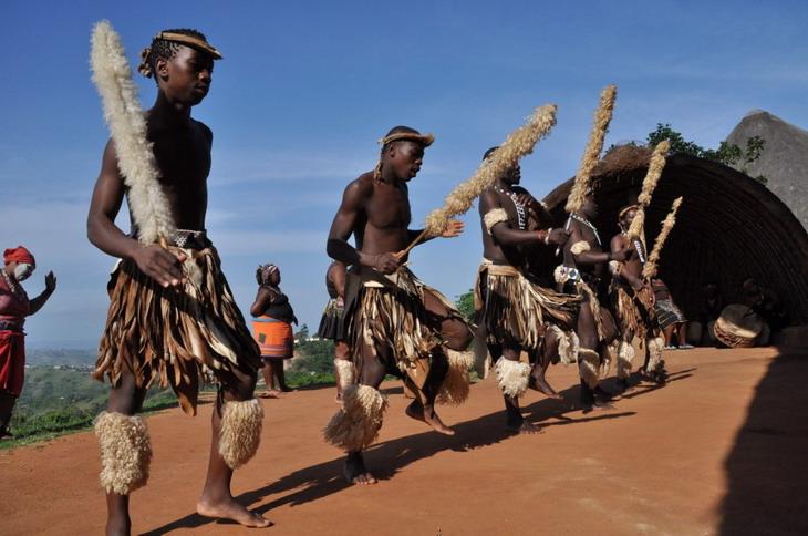 поселение зулусов Шакаленд