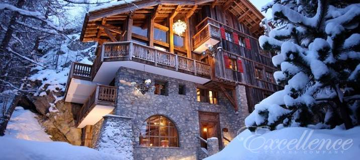 Шале Le Rocher, Val d'Isere