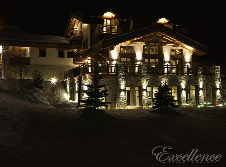 Аренда шале Shemshak Lodge в Courchevel