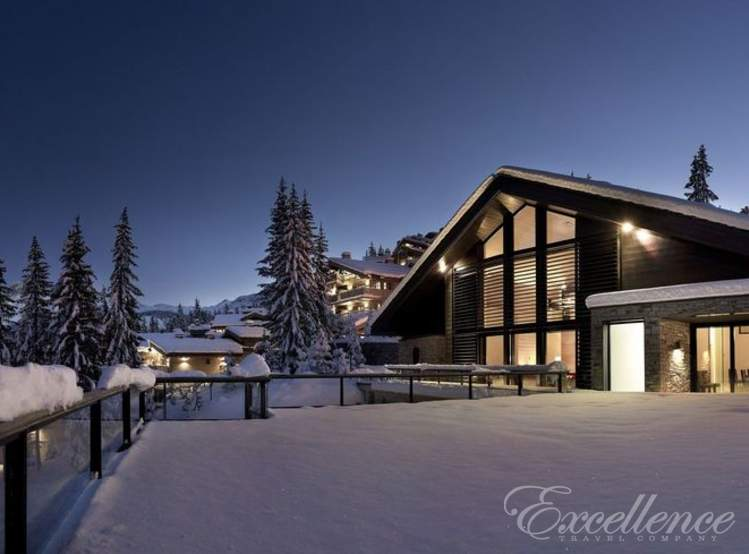 Аренда шале Greystone в Courchevel