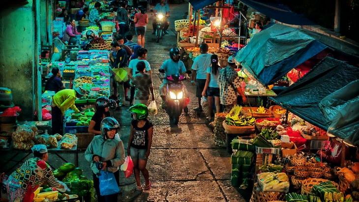 Денпасар, рынок Pasar Badung