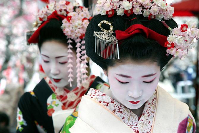 Гион - достопримечательности Японии