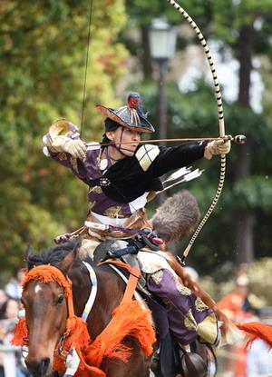 Фестиваль ябусамэ в Камакура