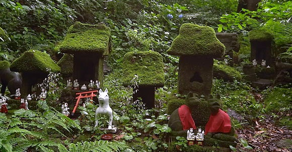 Камакура, святилище Сасукэ Инари (Sasuke Inari)