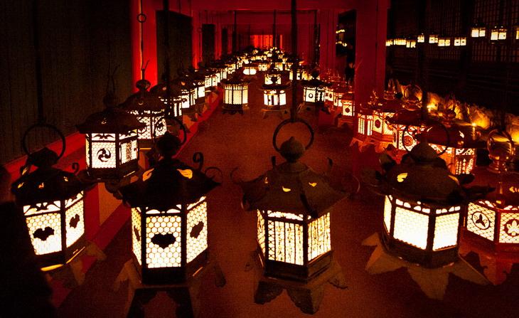 Фестиваль Setsubun Mantoro