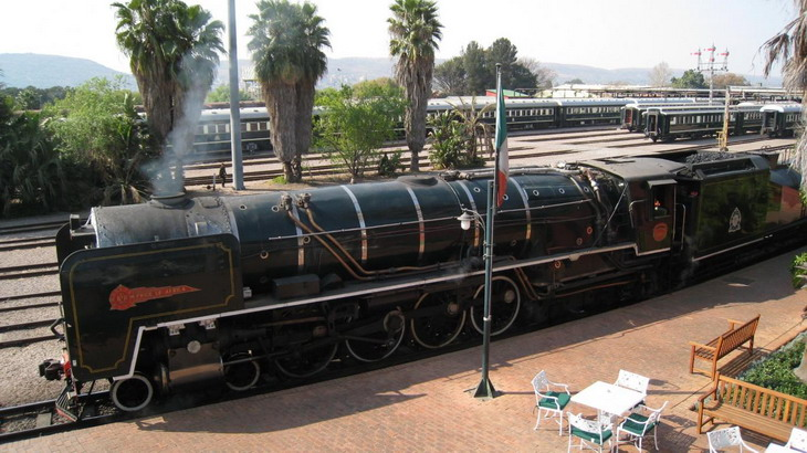 Поезд Rovos Rail