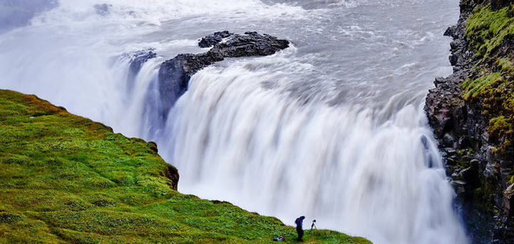 Водопад Гульфосс (Gullfoss)
